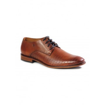 Туфли коричневые кожа
