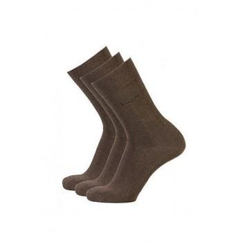 Набор носков 3 пары коричневые