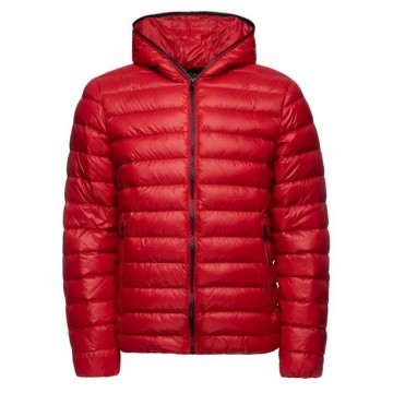 Down jacket demi 65sm red