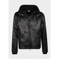 Куртка черную экокожа