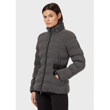Jacket gray melange