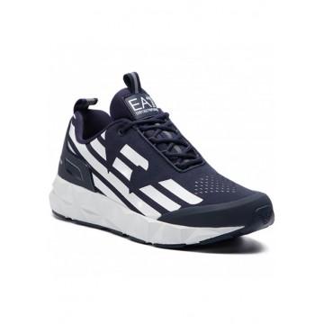 Кроссовки тёмно-синие