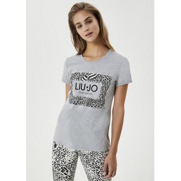 T-shirt gray print