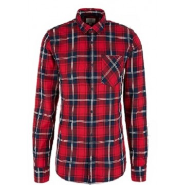 Men's shirt SF Kent d / r red cage