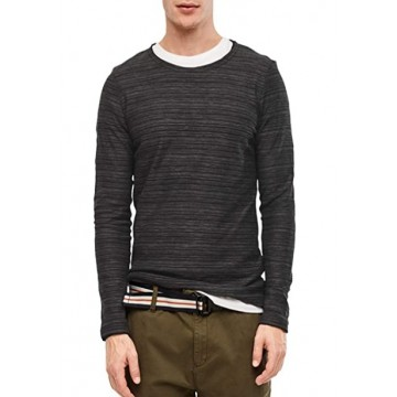 Jumper Oliver black strip