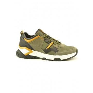 Khaki sneakers