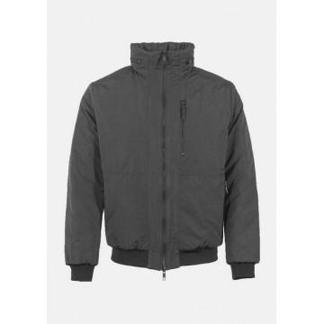 Куртка черная двухсторонняя