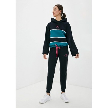 Tracksuit black-green
