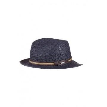 Шляпа темно-синяя