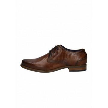Туфли тёмно-коричневые кожа