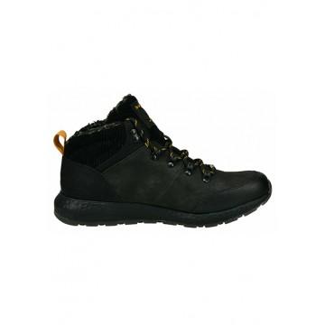Boots black leatherette