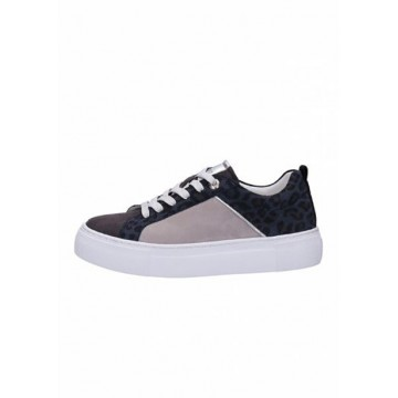 Sneakers blue-gray leather