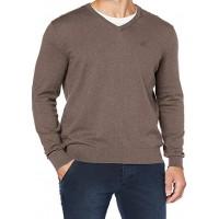 Пуловер темно-бежевый