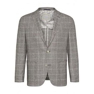 Jacket linen MF 70 cm beige squared