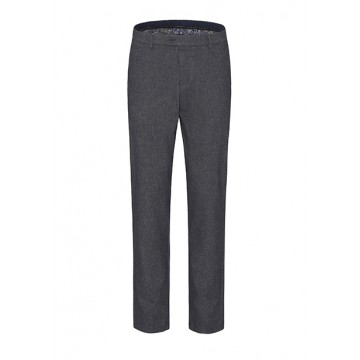 Slacks blue-gray melange