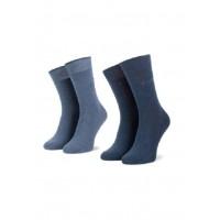 Набор носков 2 пары с.синий/синий