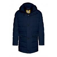 Куртка тёмно-синяя зима