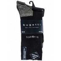 Набор носков 2 пары черно-серый