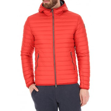 Down jacket coral
