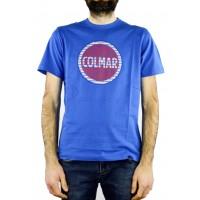 Футболка с принтом Colmar синяя