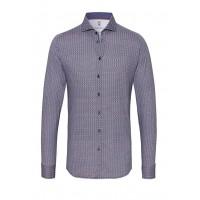 Рубашка мужская геометрический рисунок