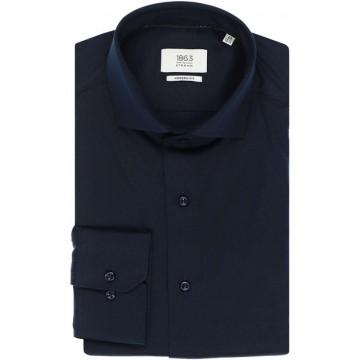Сорочка  темно-синяя трикотаж