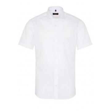 Рубашка мужская белая с коротким рукавом