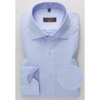 Рубашка мужская голубая классическая