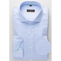 Рубашка мужская голубая без карманов