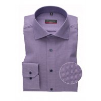 Рубашка фиолетовая микродизайн