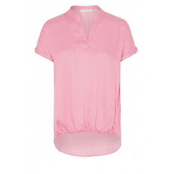 Blouse pink microdesign