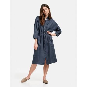 Платье Casual синий