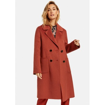 Collection terracotta coat
