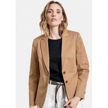 Пиджак костюмный  темный беж Casual