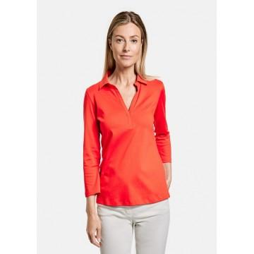 Блуз  красная Casual