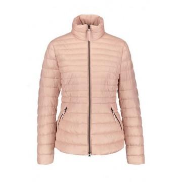 Куртка розовая стеганая
