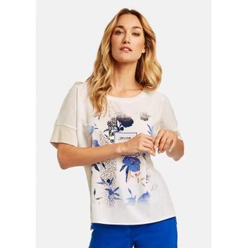 T-shirt white print