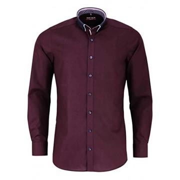 Shirt BF Button-Down 64 Bordeaux