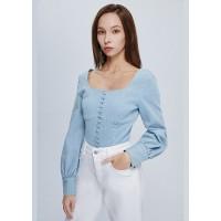 Блуза denim голубая