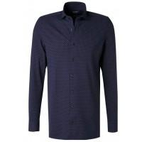 Сорочка темно-синяя трикотаж Casual