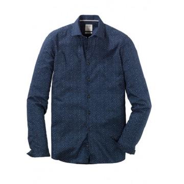 Сорочка  темно-синяя Kent