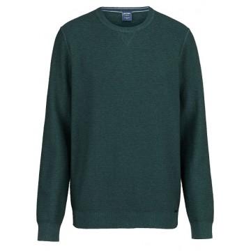 Джемпер темно-зеленый фактура