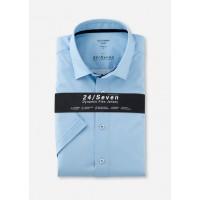 Сорочка голубая трикотаж