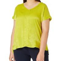 Блуза салатовая