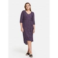 Платье фиолетовое миди