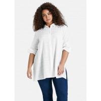 Сорочка белая удлиненная