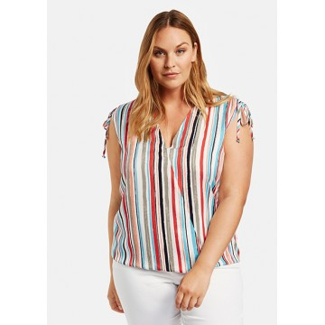 Блуза мультиколор полоса