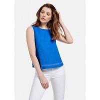 Блуза синий электрик