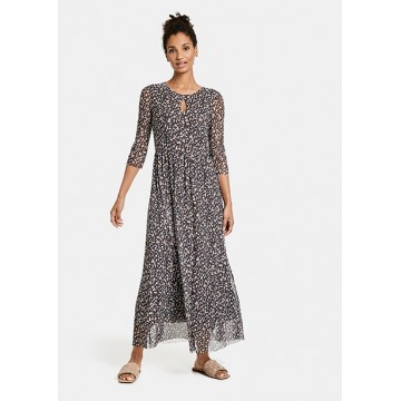 Платье коричневое maxi