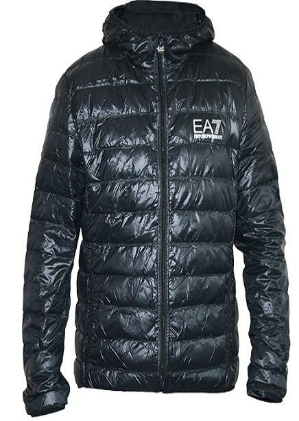 Down jacket EA7 demi 65sm black